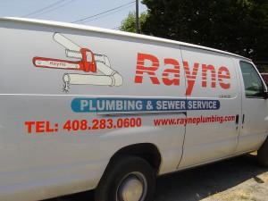 Plumbing van off to san jose plumbing repairs.