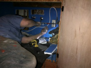 Here we are doing sewer smell locating and providing plumbing for sunnyvale restaurants.